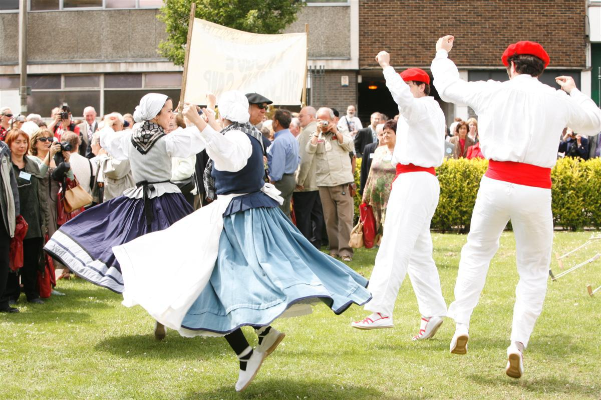 Dancers at 70th Anniversary Commemoration