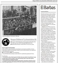 Newsletter 5, April 2006, pages 7 & 8