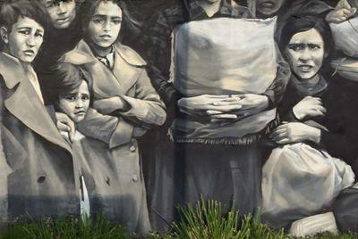 Mural in Gernika