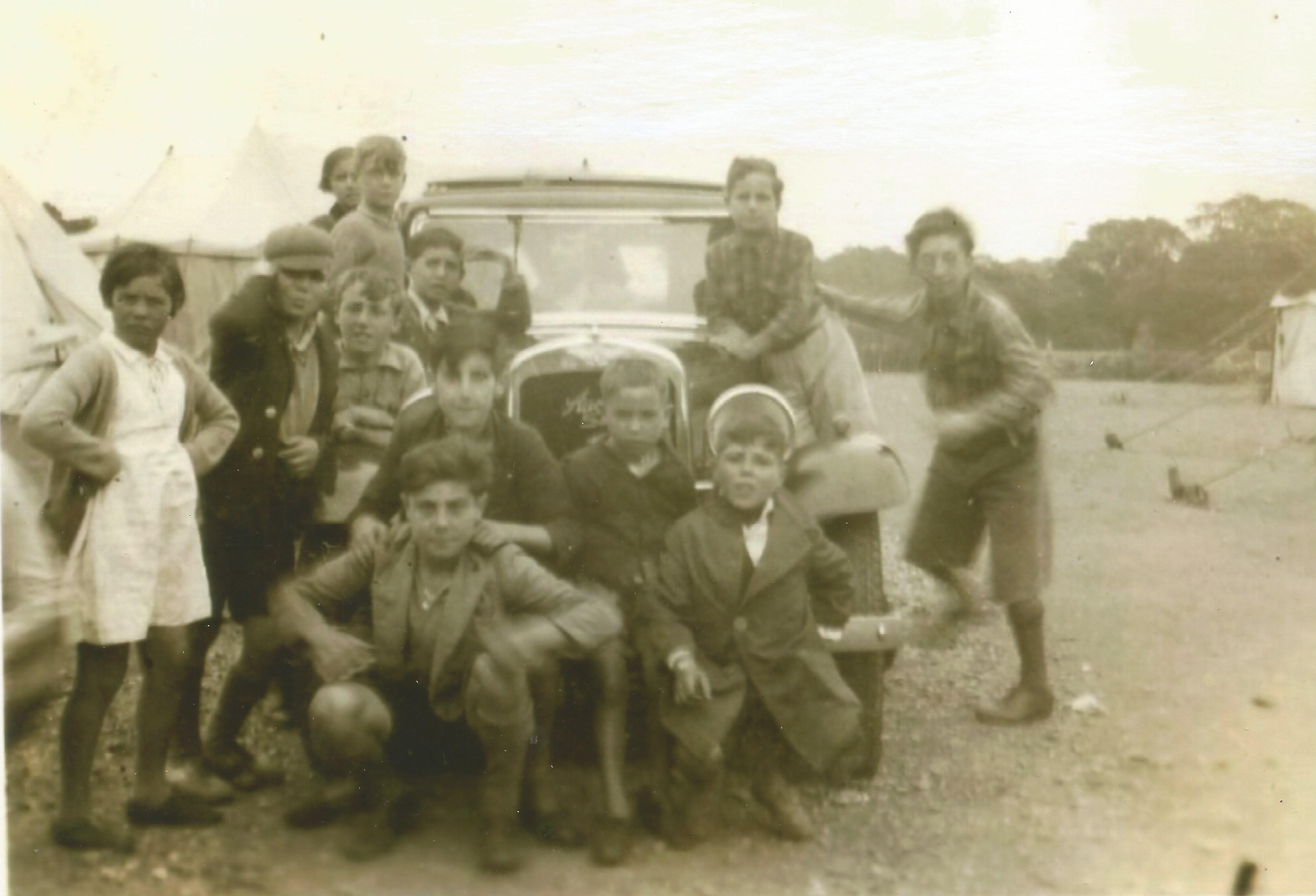 At Stoneham Camp