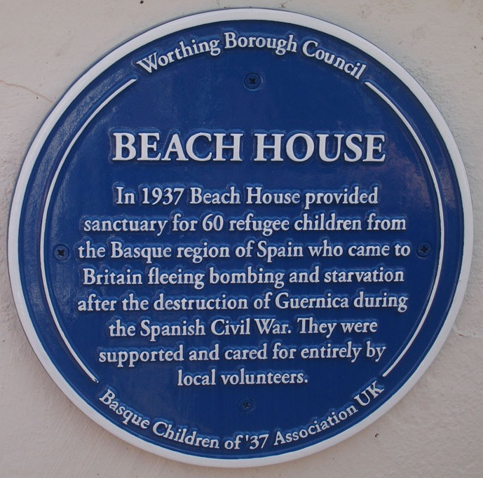 Worthing Plaque